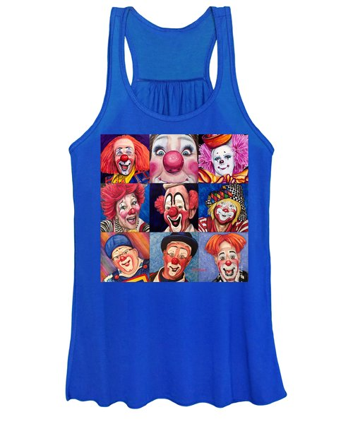 Fun Real Clowns Women's Tank Top