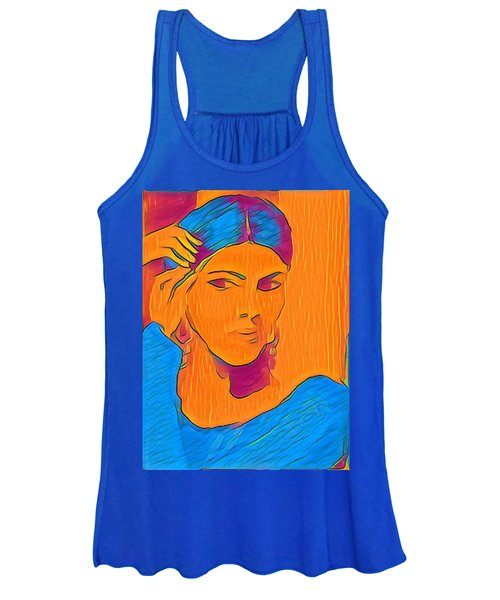 Getting Ready Electric Women's Tank Top