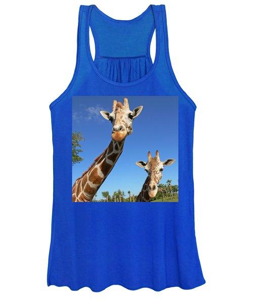 Giraffes Women's Tank Top