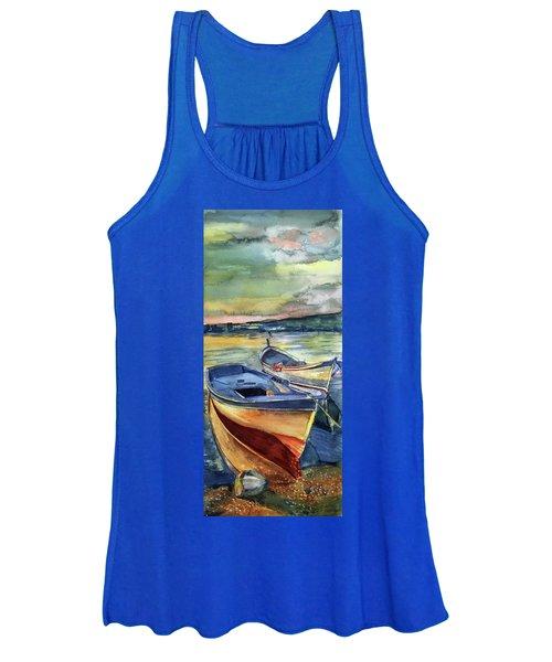 Golden Boats Women's Tank Top