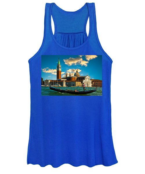 Gondola And San Giorgio Maggiore Women's Tank Top