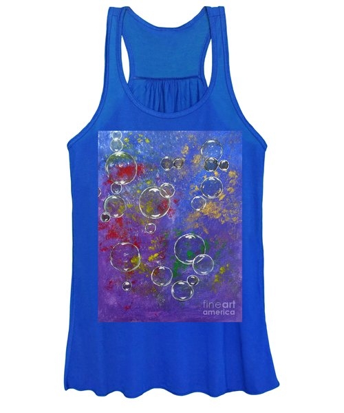 Graffiti Bubbles Women's Tank Top
