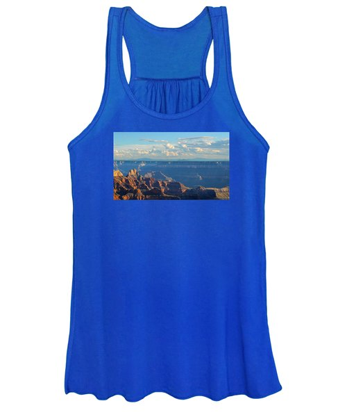 Grand Canyon North Rim Sunset San Francisco Peaks Women's Tank Top
