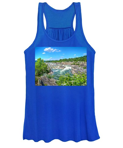 Great Falls On The Potomac Women's Tank Top