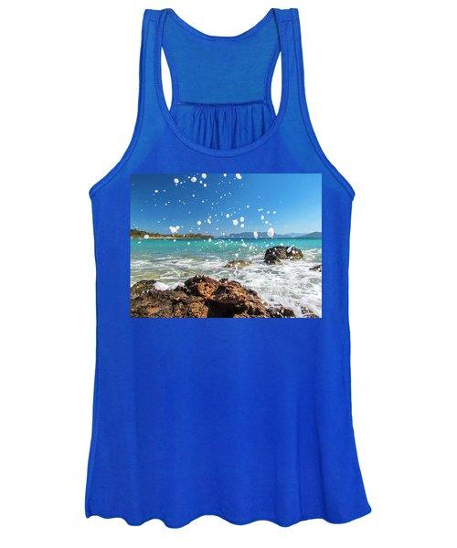 Greek Surf Spray Women's Tank Top