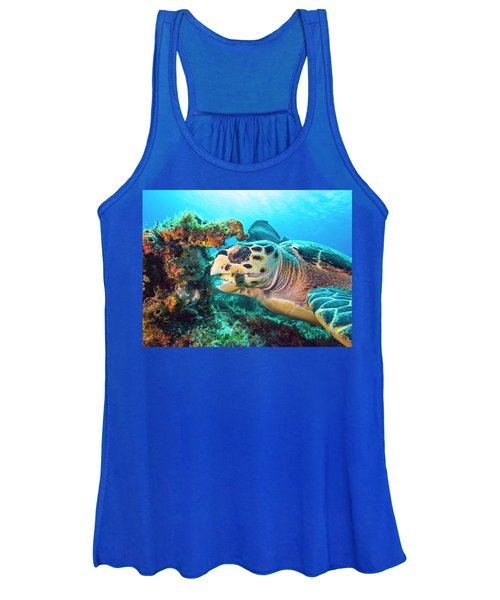 Green Turtle Dining Women's Tank Top