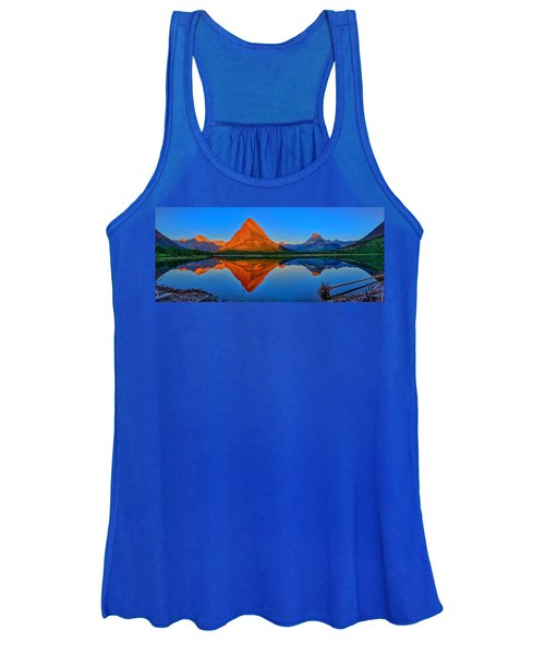 Grinnell Point Alpenglow Panorama Women's Tank Top