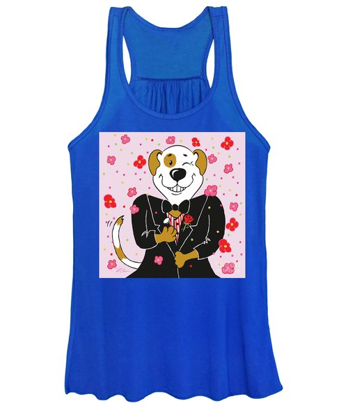 Groom Dog Women's Tank Top