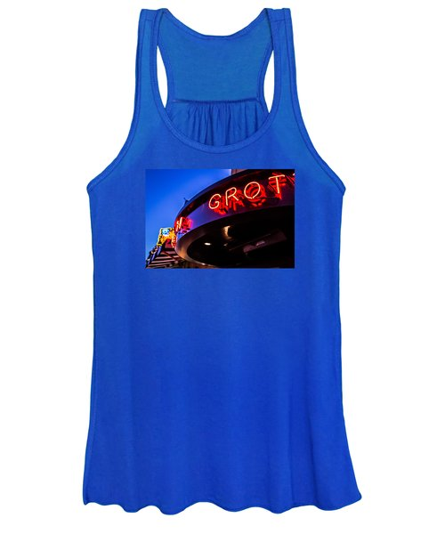Grotto - Night View Women's Tank Top