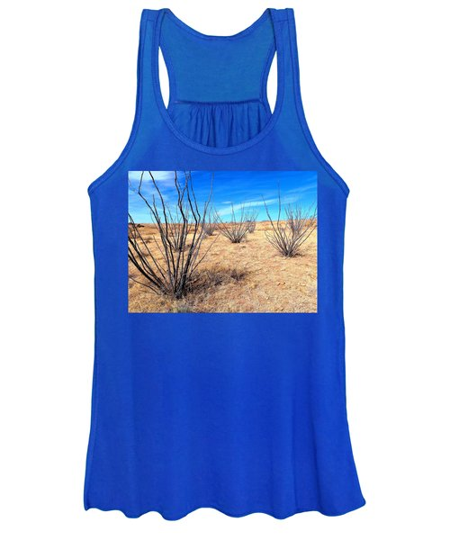Ground Level - New Mexico Women's Tank Top