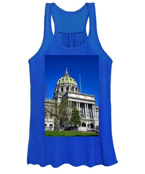 Harrisburg Capitol Building Women's Tank Top