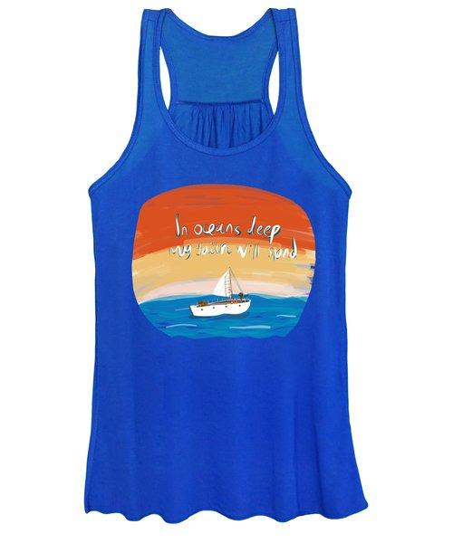 Hillsong - Oceans Women's Tank Top