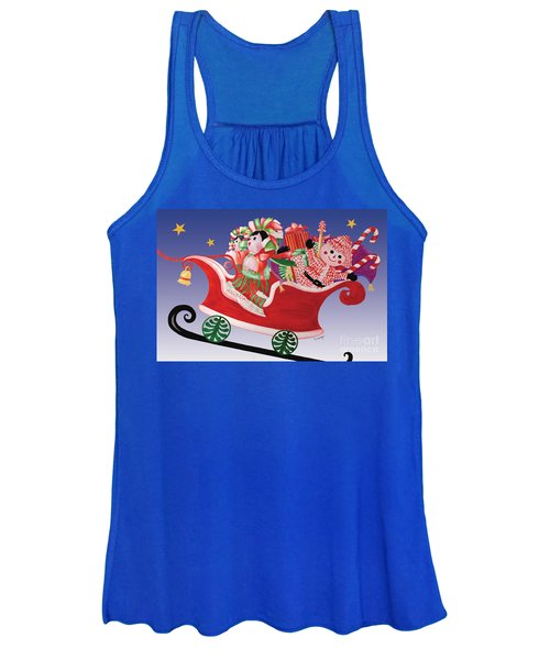 Holiday Twin Delivery Women's Tank Top