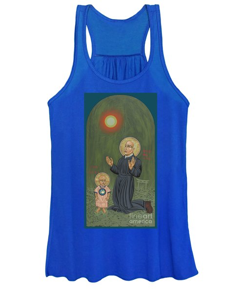 Holy Father Pedro Arrupe, Sj In Hiroshima With The Christ Child 293 Women's Tank Top