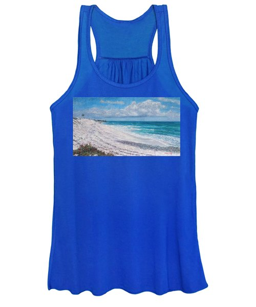 Hope Town Beach Women's Tank Top