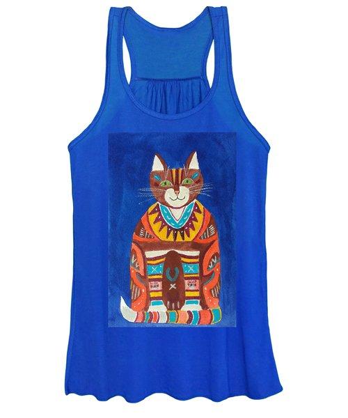 Huey Cat Women's Tank Top