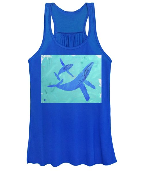 Humpback Whales Women's Tank Top