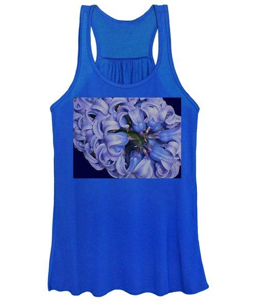Hyacinth Curls Women's Tank Top