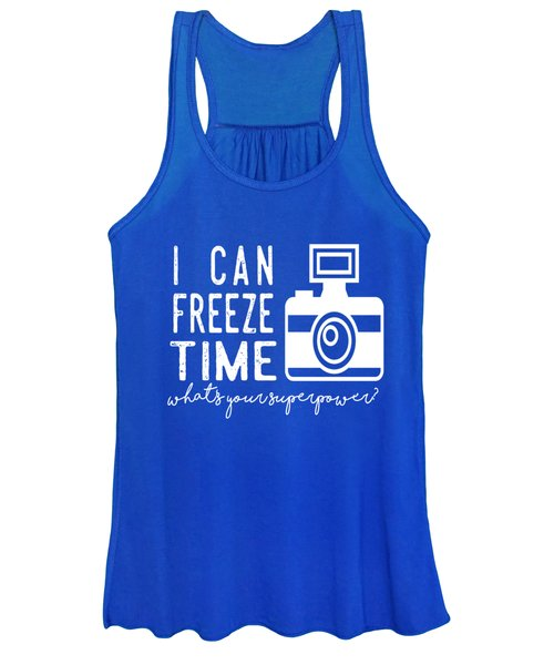 I Can Freeze Time Women's Tank Top