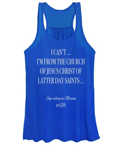 I Can T  Women's Tank Top