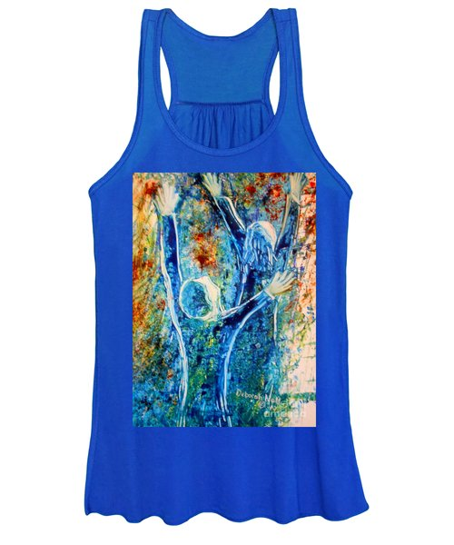 I Will Praise You In The Storm Women's Tank Top