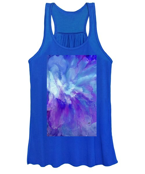 Icy Bloom Women's Tank Top