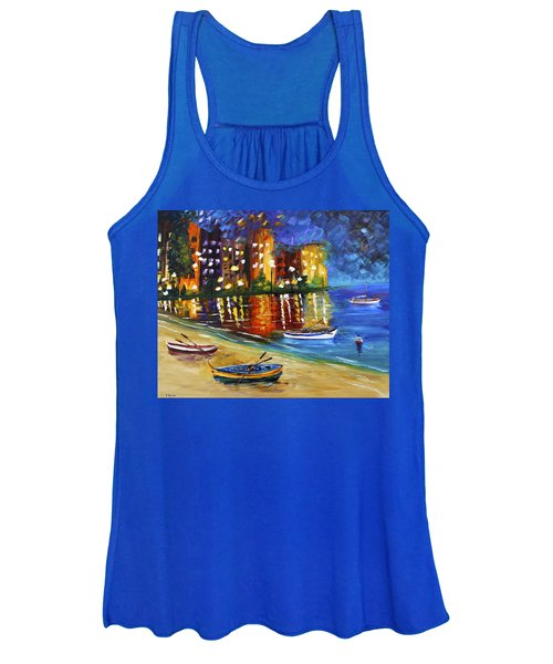 In For The Night Women's Tank Top