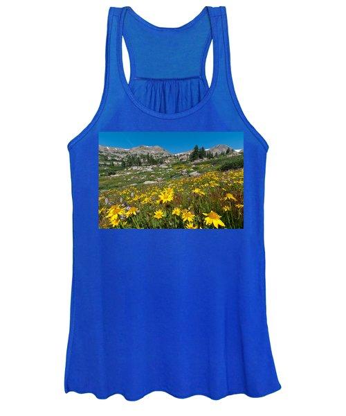 Indian Peaks Summer Wildflowers Women's Tank Top