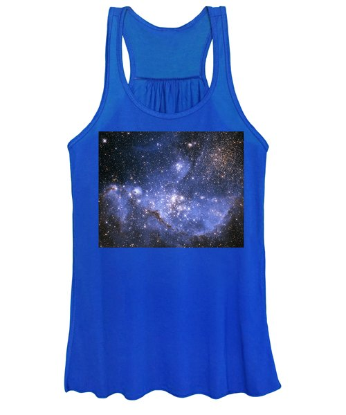 Infant Stars In The Small Magellanic Cloud  Women's Tank Top