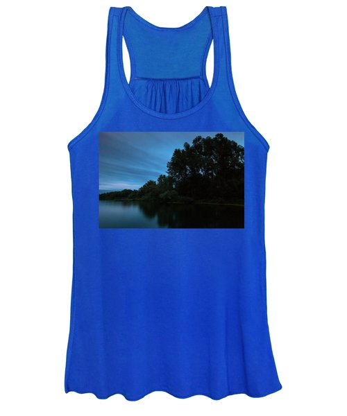 Into The Night Women's Tank Top