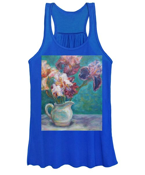 Iris Medley - Original Impressionist Painting Women's Tank Top