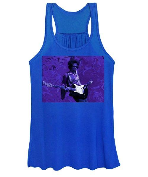 Jimi Hendrix Purple Haze Women's Tank Top