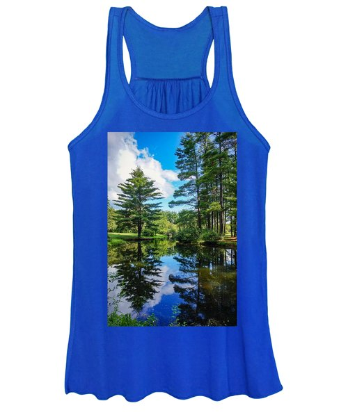 June Day At The Park Women's Tank Top