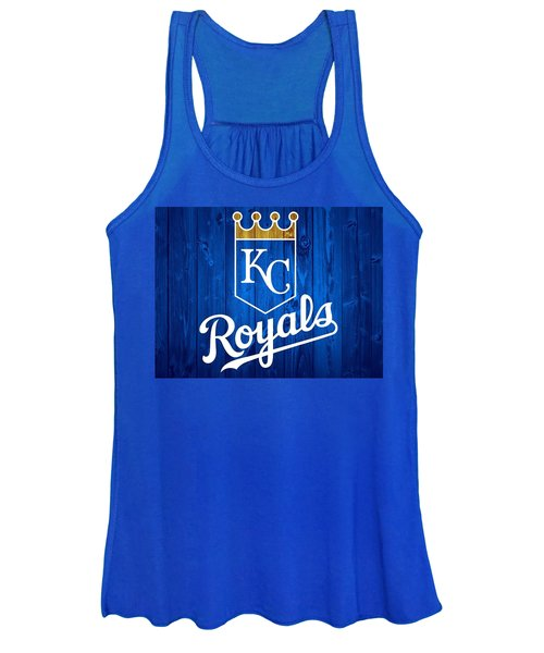 Kansas City Royals Barn Door Women's Tank Top