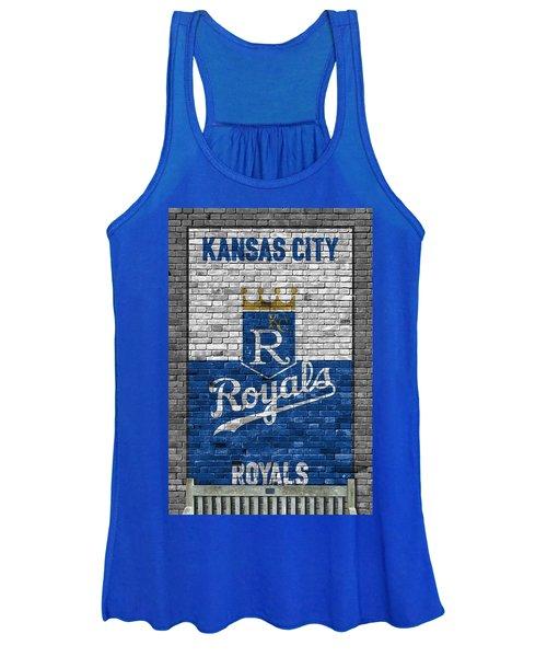 Kansas City Royals Brick Wall Women's Tank Top