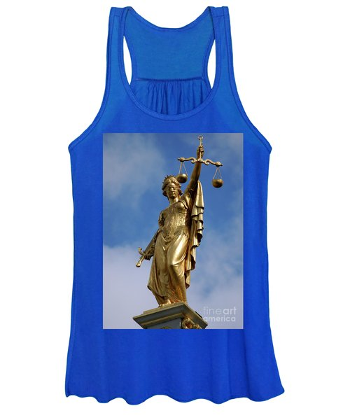 Lady Justice In Bruges Women's Tank Top
