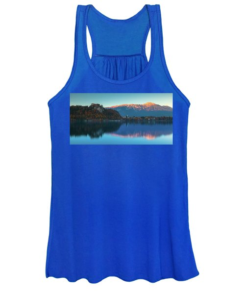 Lake Bled Panorama Women's Tank Top