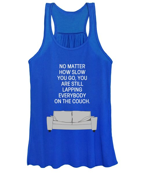 Lap The Couch Women's Tank Top