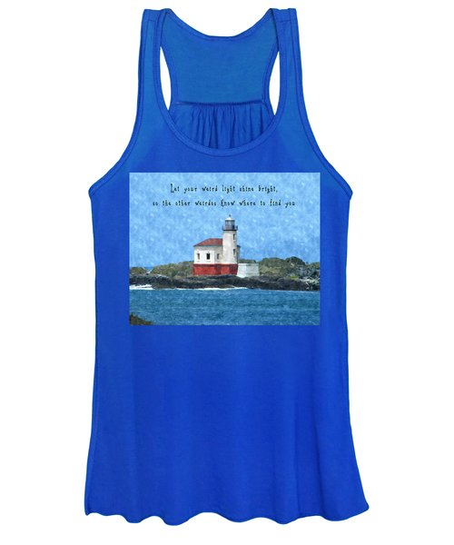 Let Your Weird Light Shine Bright Women's Tank Top
