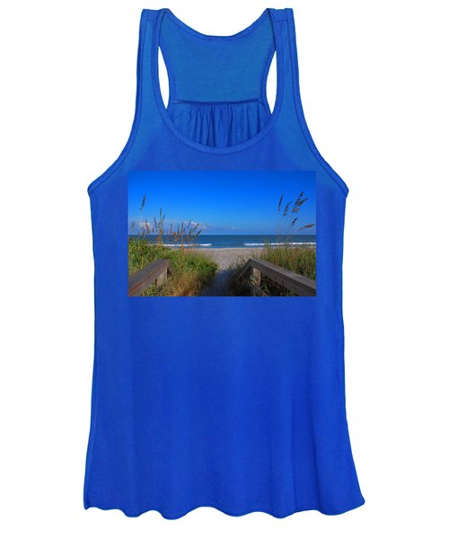 Lets Go To The Beach Women's Tank Top