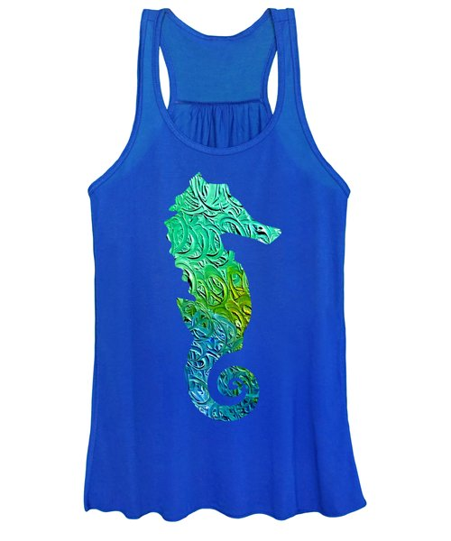 Lively Seahorse Women's Tank Top