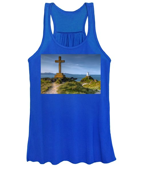 Llanddwyn Cross Women's Tank Top