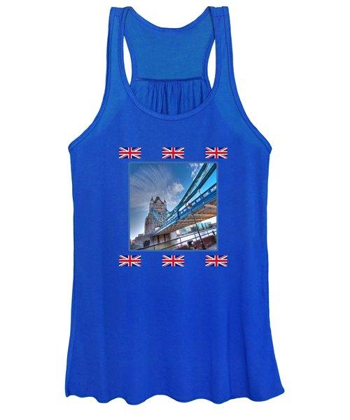 London Landmark - Tower Bridge Women's Tank Top