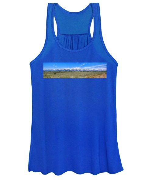 Lone Tree And The Tetons Women's Tank Top