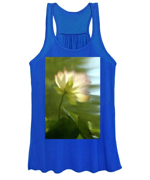 Lotus Reflection Women's Tank Top