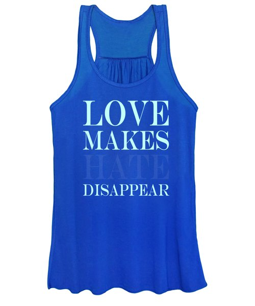 Love Makes Hate Disappear  Women's Tank Top