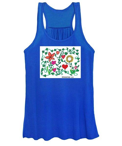 Love On The Vine Women's Tank Top