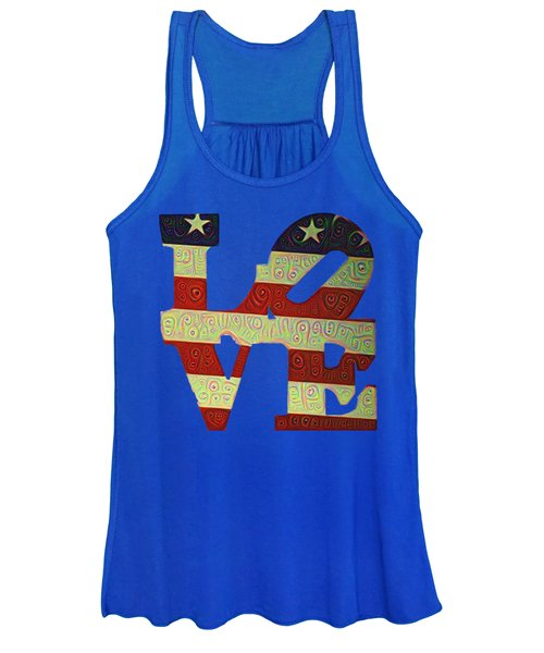 Love The Usa Women's Tank Top