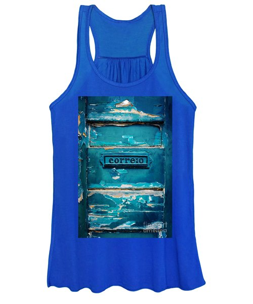 Mailbox Blue Women's Tank Top