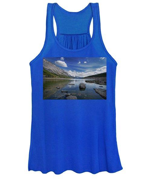 Medicine Lake, Jasper Women's Tank Top